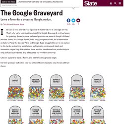 Google Reader joins graveyard of dead Google products