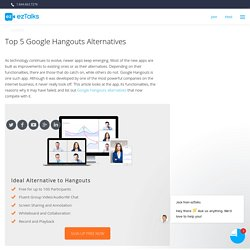alternative to google hangouts