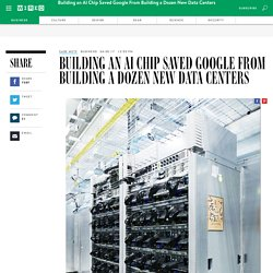 Google's TPU Chip Helped It Avoid Building Dozens of New Data Centers