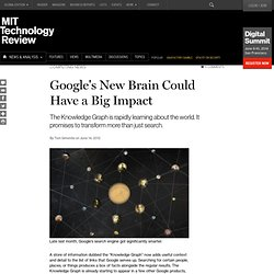 Google's New Brain Could Have a Big Impact