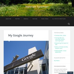 My Google Journey