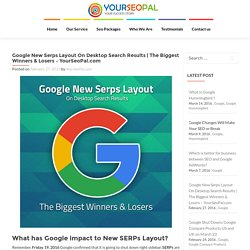 Google New Serps Layout On Desktop Search Results