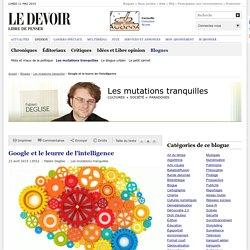 Google et le leurre de l'intelligence