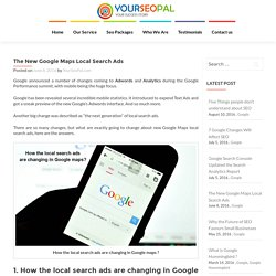 The New Google Maps Local Search Ads - YourSeoPal.com