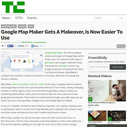 Google Map Maker Gets A Makeover, Is Now Easier To Use