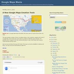 Un Nouveau Google Maps Outils de création