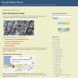 Maps Mania Haiti Earthquake Maps