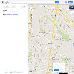 Google Maps Springvale