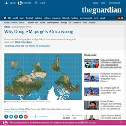 Why Google Maps gets Africa wrong