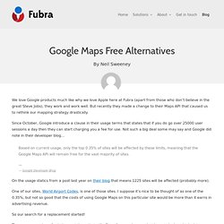 Google Maps Free Alternatives « Fubra