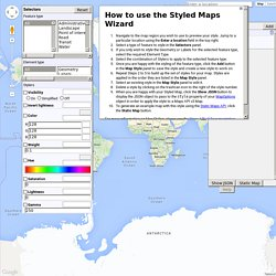 Google Maps API Styled Map Wizard