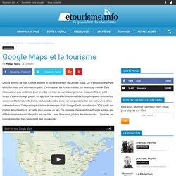 Google Maps et le tourisme