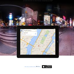 Maps for iPad – About – Google Maps
