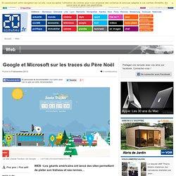 Google et Microsoft sur les traces du Père Noël