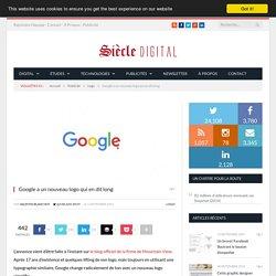 Google a un nouveau logo qui en dit long
