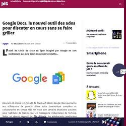 Google Docs, le nouvel outil des ados pour discuter en cours sans se faire gr...