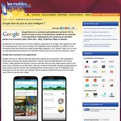 Google Now de plus en plus intelligent ?