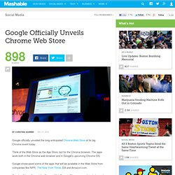 Google Officially Unveils Chrome Web Store