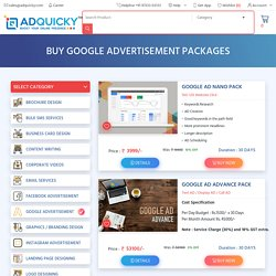 Google Ads Package in India