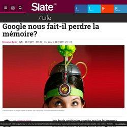 Google nous fait-il perdre la mémoire?