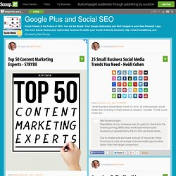 Google+ Social SEO Scoop.it