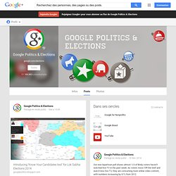 Politics & Elections - Google+