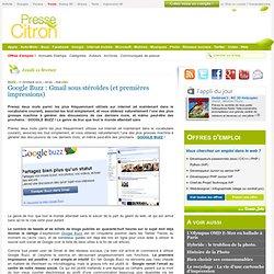 Google Buzz : premières impressions | Presse-Citron