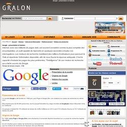 Google : présentation et histoire