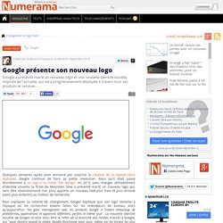 Google présente son nouveau logo