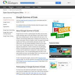 Code - Summer of Code - Google Summer of Code