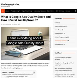 What is Google Ads Quality Score and How Should You Improve It?