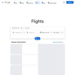 GoogleRecherchedevols