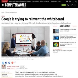 Google is trying to reinvent the whiteboard