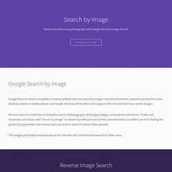Google Reverse Image Search for Phones and Tablets