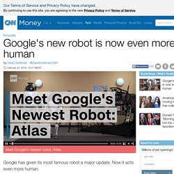 Google's new robot is now even more human - Feb. 24, 2016