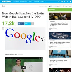 How a Google Search Works in Only Half a Second