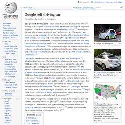 Google self-driving car - Wikipedia