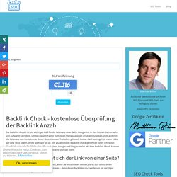 Backlink Check