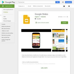 Presentaciones de Google