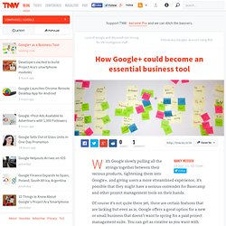 Google+ takes on Facebook. Is Basecamp next? - TNW Google