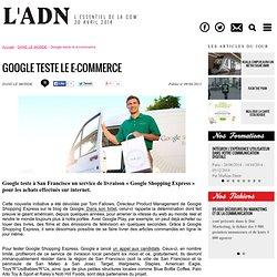 Google teste le e-commerce