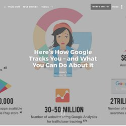 Here's How Google Tracks You - and What You Can Do About It - True Stories