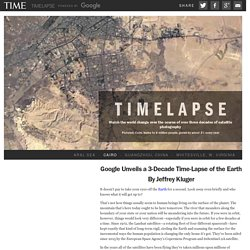 Google Unveils a 3-Decade Time-Lapse of the Earth