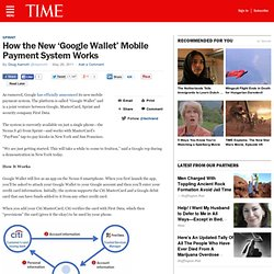 How the New 'Google Wallet' Mobile Payment System Works