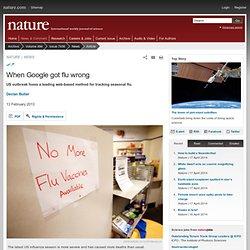 When Google got flu wrong