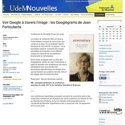 Voir Google à travers l'image : les Googlegrams de Joan Fontcuberta