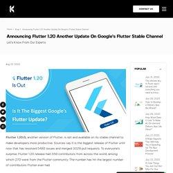Googles Flutter 1.20 Framework