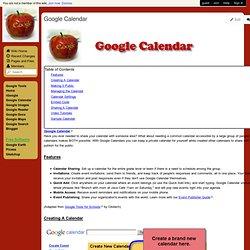googletools - Google Calendar