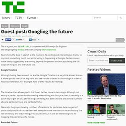 Guest post: Googling the future