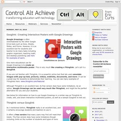 Control Alt Achieve: Googlink: Using Google Drawings like a Thinglink